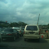 Photo taken at Pintu Tol Cawang by Tomi S. on 12/1/2011
