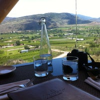 Photo taken at Miradoro Restaurant at Tinhorn Creek Vineyard by Rich W. on 6/10/2012