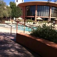Photo taken at Sheraton Wild Horse Pass Resort & Spa by Brendan S. on 9/22/2011