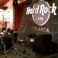 Photo taken at Hard Rock Cafe Atlanta by jettlii on 2/24/2012