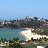 Photo taken at Praia do Canto by Milton C. on 10/1/2011