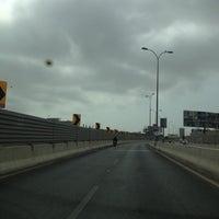 Photo taken at Gizri Bridge by Shahrukh H. on 8/27/2012