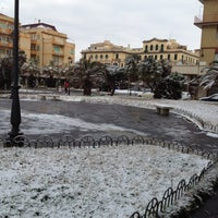 Photo taken at Piazza Anco Marzio by Marco M. on 2/4/2012