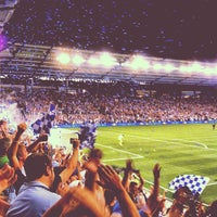 Photo taken at Boulevard Members Club at Sporting Park by Bryan S. on 8/9/2012