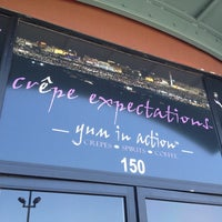 Photo taken at Crepe Expectations by Darrell S. on 7/26/2012