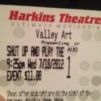 Photo taken at Harkins Theatres Valley Art Theatre by Garrett M. on 7/19/2012
