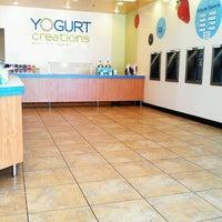 Photo taken at Yogurt Creations by Jo F. on 6/11/2012