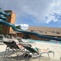 Photo taken at Fairmont Hot Springs Resort by Jennifer C. on 7/9/2012