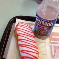 Photo taken at Krispy Kreme Doughnuts by April C. on 4/5/2012