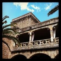 Photo taken at Hotel Parador de Jarandilla de la Vera by Manuel M. on 4/30/2012
