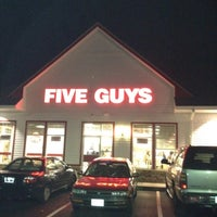 Photo taken at Five Guys by Johnny W. on 5/9/2012