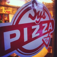 Photo taken at Sy's New York Pizza by Aaron R. on 6/9/2012