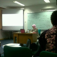 Photo taken at Telkom Business School by Iqbal F. on 4/13/2012