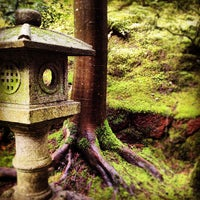 Photo taken at Portland Japanese Garden by Aaron W. on 3/23/2012