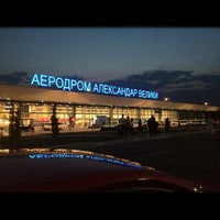 Photo taken at Skopje Alexander the Great Airport (SKP) by Stanche G. on 8/30/2012