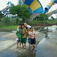 Photo taken at Splashtown by Lisa G. on 5/12/2012