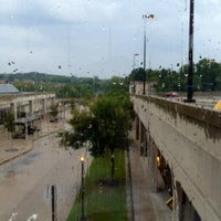 Photo taken at Southern Avenue Metro Station by Diana J. on 8/25/2012