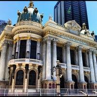 Foto tirada no(a) Theatro Municipal do Rio de Janeiro por Marcelo M. em 2/14/2012