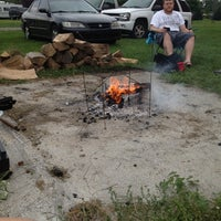 Photo taken at Circle B Campground by Megan K. on 9/1/2012