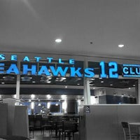 Photo taken at Seattle Seahawks 12 Club by Amy S. on 3/21/2012
