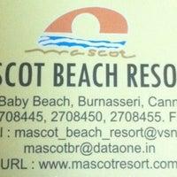 Photo taken at Mascot Beach Resort by Sarish R. on 1/22/2012