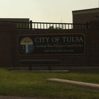 Photo taken at Tulsa Northside Waste Water Treatment Plant by Johnathan S. on 6/13/2012