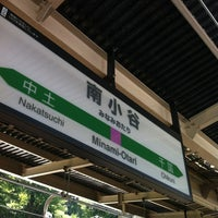Photo taken at Minami-Otari Station by Kogamen P. on 8/24/2012