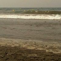 Photo taken at Paseo Marítimo de El Morche by Patricia Torres  on 8/12/2012