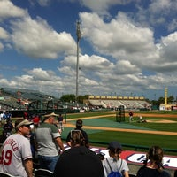 Photo taken at Roger Dean Stadium by Tyler H. on 3/24/2012