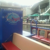 Photo taken at Rio San Antonio Cruises by Kiron A. on 11/6/2011