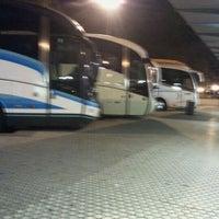 Photo taken at Donostia | San Sebastián Bus Station by Angel A. on 11/22/2011
