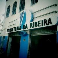 Foto tomada en Sorveteria da Ribeira por luiza p. el 12/30/2011