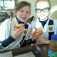 Photo taken at Donut Bank Bakery & Coffee Shop by Aaron N. on 11/6/2011