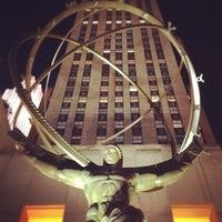 Photo taken at 30 Rockefeller Plaza by Stef D. on 8/30/2012