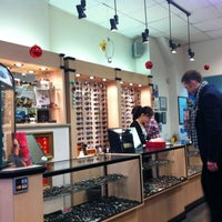 Photo taken at Manhattan Grand Optical by Earl D. on 12/23/2011