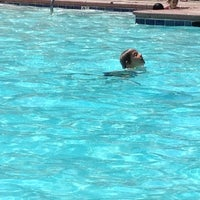 Photo taken at Pool at The Palms Apts by July C. on 6/21/2012
