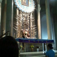 Photo taken at National Shrine of Our Mother of Perpetual Help (Redemptorist Church) by Rose M. on 3/6/2012