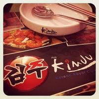 Photo taken at Kimju by Chrisdar P. on 4/4/2012