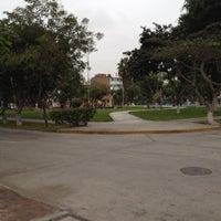 Photo taken at Parque F. De las casas by Rob Miguel ר. on 7/25/2012
