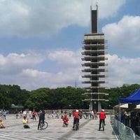 Photo taken at Komazawa Olympic Park by Tsuyoshi A. on 6/30/2012