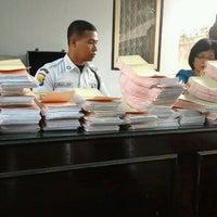 Photo taken at Dispenda Kota Mataram by Yogo G. on 9/4/2012