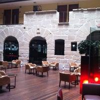 Photo taken at Hotel F & G Logroño by Alberto M. on 10/26/2011