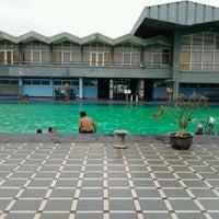 Photo taken at Kolam Renang Bojana Tirta by Adelina P. on 11/20/2011