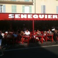 Photo taken at Senequier by Lara C. on 8/16/2011