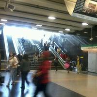 Photo taken at Metro Plaza de Maipú by Mirtha M. on 5/4/2012