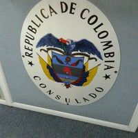 Photo taken at Consulado Geral da Colômbia by Edgard O. on 7/18/2012