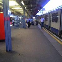 Photo taken at Upminster Railway Station (UPM) by Steve C. on 5/25/2012
