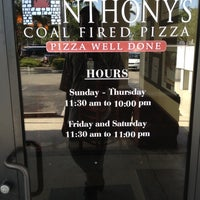 Photo taken at Anthony's Coal Fired Pizza by Rizo D. on 4/9/2012