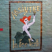 Photo taken at Cafe Absinthe by Steve R. on 5/12/2012