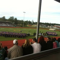 Photo taken at Wildcat Memorial Stadium by Melissa B. on 6/12/2012